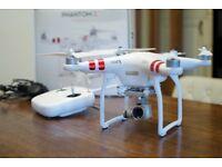 DJI Phantom 3 Drone with camera and gimbal, hardly used