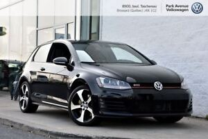 2016 Volkswagen Golf GTI 3-Door Performance **RÉSERVÉ**