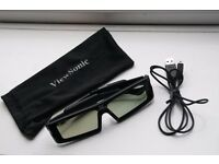 Original ViewSonic PGD-250 Active Stereographic 3D Shutter Glasses