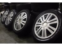 """GENUINE OEM FORD C-MAX 16"""" ALLOY WHEELS + TYRES CONNECT FOCUS VOLVO BARGAIN CLEARANCE PART-EX"""