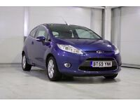 2010 Ford Fiesta 1.25 Zetec ,New MOT, Low Insurance