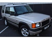 LANDROVER DISCOVERY2 TD5 GS 7 SEATS ** SERVICE HISTORY ** MOT MAY ** 100% HPI CLEAR ** HEALTH CHECK