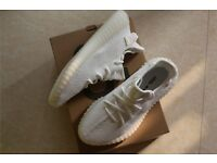 "Adidas Yeezy Boost 350 V2 ""Triple White"" with Original Box"