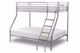 """BRAND NEW"""":""""GET AMAZING SUPERB OFFER!! !! TRIO SLEEPER BUNK BED SAME DAY EXPRESS DELIVERY"""