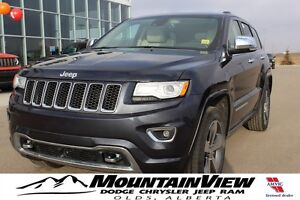 2015 Jeep Grand Cherokee Overland ECO DIESEL! REAR DVD!