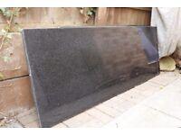 3 pieces granite worktop (star galaxy black)
