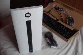 BRAND NEW QUAD CORE GAMING PC, HP 550-111NA, AMD A10, 8GB RAM, 1TB, Windows 10, HDMi, R7 GPU