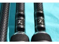 x2 SERIES CARP RODS BY TFG