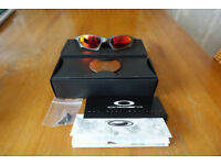 Oakley X-metal Penny Ruby, Ultra Low Serial with matching box.