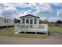 School Holiday Rental static caravan with sea views at Haven Thorpe Park Cleethorpes Sleeps 8
