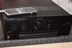 KENWOOD AMP 140W AUXIN PLAY IPOD PHONE CAN BE SEEN WORKING