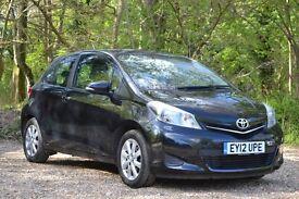 Toyota Yaris 1.33 VVT-i TR 3dr LOW MILEAGE | FREE WARRANTY 2012 (12 reg), 28,065 miles 1329cc Petrol