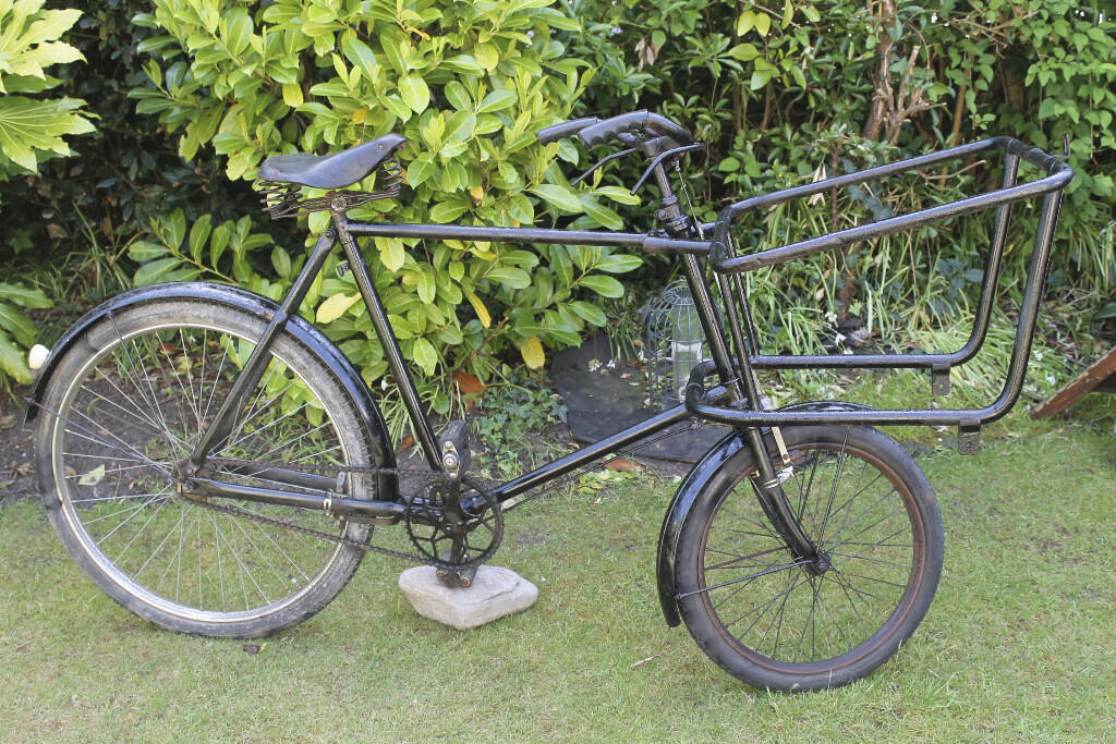 Vintage Trade Bike 1930s 40s Butchers Bike Carrier Cargo