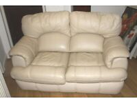 2 Seater Leather Sofa - Free to collect