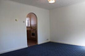 Unfurnished one bedroom ground floor apartment Inverkip