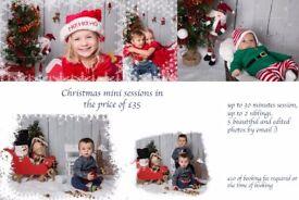 Xmas photoshoot for kids, Christmas photos