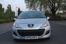 PEUGEOT 207 YEAR 2010 HPI CLEAR 1 P OWNER £2500