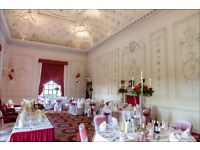 100 pcs Burgundy Wedding Organza Chair Cover Sashes