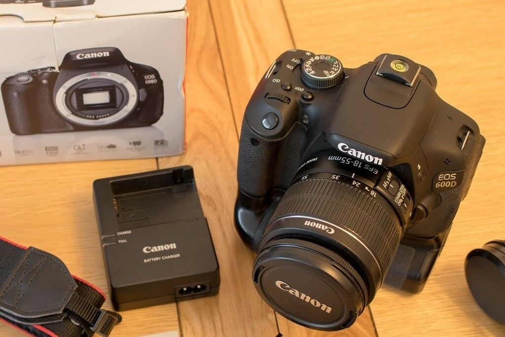 Canon EOS 600d DSLR kit with Velbon DF-50 tripod - BARGAIN PRICE! | in  Cardiff | Gumtree