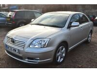 TOYOTA AVENSIS 2.2 D-4D T4 5dr (silver) 2005