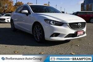 2015 Mazda MAZDA6 GT|TECH|LEATHER|BLUETOOTH|ROOF|BOSE|SINGLE OWN