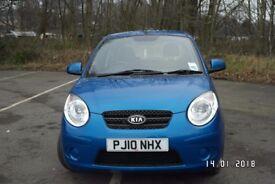 Kia Picanto Strike, one lady owner, low mileage. Low priced tax £30