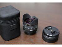 *** Sigma 15mm Fisheye f2.8 - Canon EF *** Like New