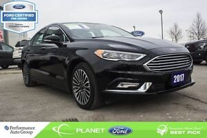 2017 Ford Fusion SE  FORD CERTIFIED LOW RATES & EXTRA WARRANTY!