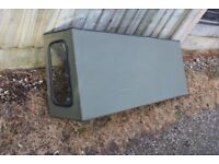 Land Rover 90 hard top roof, van sides and rear door only
