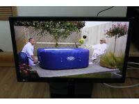 L@@K LG 22 Inch FULL HD LED LCD Monitor TV, Freeview, HDMI, USB plus , IPS LED, DivX