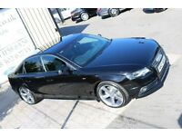 2008 AUDI A4 2.0TDI S LINE 143PS !!BLACK EDITION SPEC!! SALOON ( FINANCE & WARRANTY AVAILABLE)