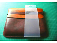 Two-tone Brown Leather John Lewis Tablet Sleeve/Case/Pouch
