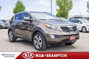 2013 Kia Sportage EX Luxury|ROOF|BACKUP CAM|POWER SEAT|SAT RDIO