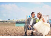Wedding photographer in Sussex - prices start from £350