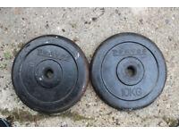 Weights Domyos 2X10 kg