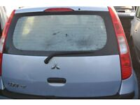 2006 - MITSUBISHI COLT in BLUE -PETROL - BREAKING for SPARE PARTS.
