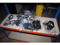 12 sets of Headphones