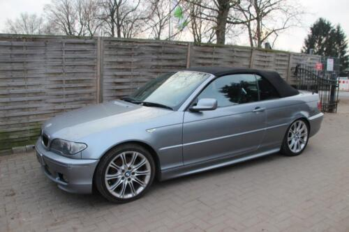 bmw e46 cabrio facelift 330ci silbergrau metallic. Black Bedroom Furniture Sets. Home Design Ideas