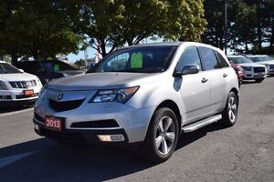 2013 Acura MDX 6SP, Moonroof, Rear View Camera, Cruise Control,
