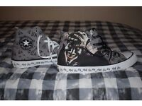 The Joker Converse shoes (size 11)