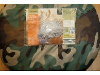 Pop up tent for festivals camping fishing etc camouflage style