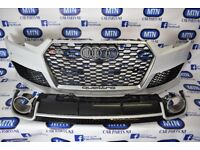 AUDI RS4 RS STYLE FRONT BUMPER & DIFFUSER A4 TO RS4 B9 MODEL 2016 ON BODY KIT