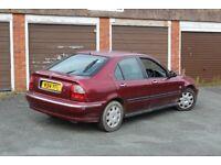 2000 Rover 45 1.4, Spares or repair