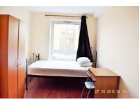 A wonderful double bedroom to rent in Whitechapel E1 with All bills included.