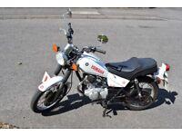 Yamaha SR 125 learner bike good condition 1 year MOT