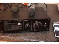REALISTIC AMPLIFIER AUX IN MICROPHONE MIXER CAN SEE WORKING