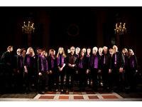 Jazz Choir based in Camden, seeks top sopranos, rehearse Thursdays 7.30