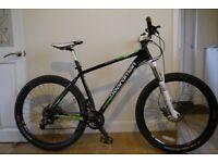 "Boardman Team 650b hardtail mountain bike 19"" (large). £ 380"