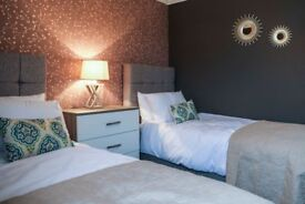 Two Bedroom short stay apartments in Kilmarnock. Fully serviced