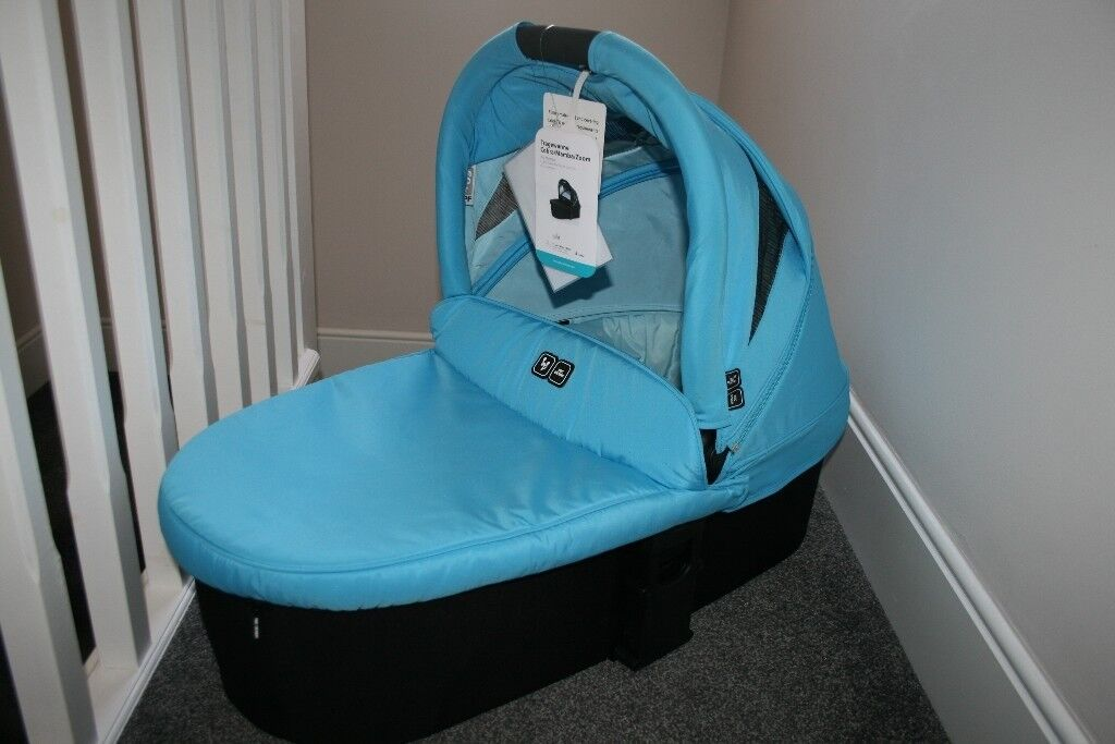ABC Design pram CARRYCOT for Cobra / Mamba / Zoom - Blue CAN POST